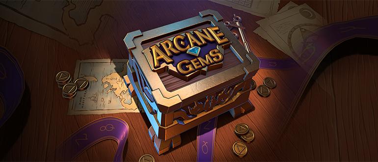 Обзор игрового автомата Arcane Gems (Скрытые драгоценности): Quickspin