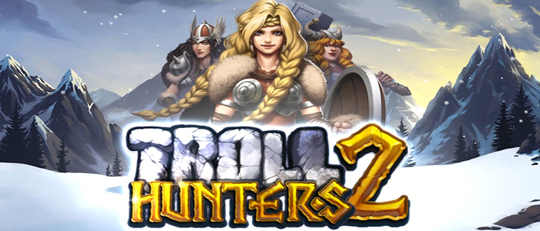 Обзор игрового автомата Troll Hunters 2 (Охотники на тролей 2): Play'n Go