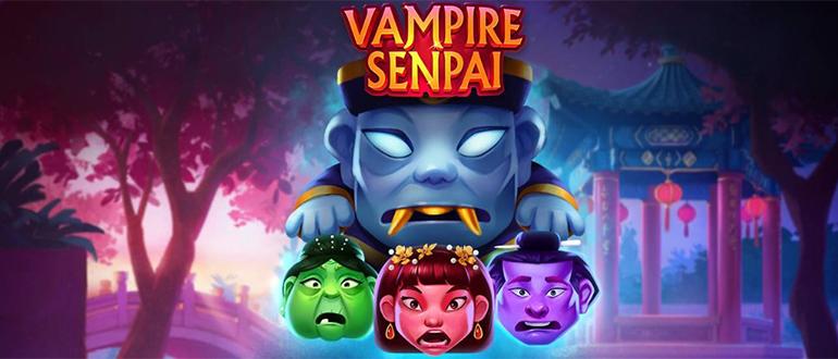 Обзор игрового автомата Vampire Senpai (Вампир Сэнпай): Quickspin