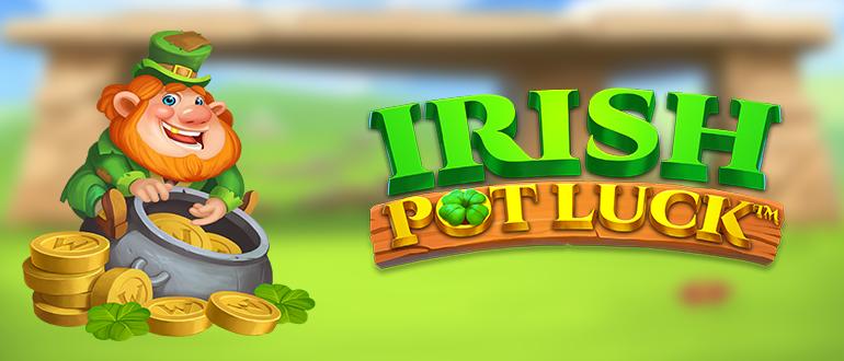 Обзор игрового автомата Irish Pot Luck (Ириш Пот Лак): NetEnt